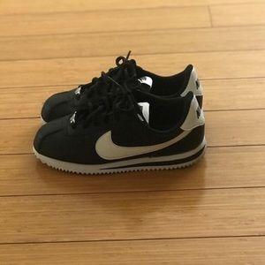 Nike Shoes - Nike Classic Cortez Black & White Tennis Sneakers